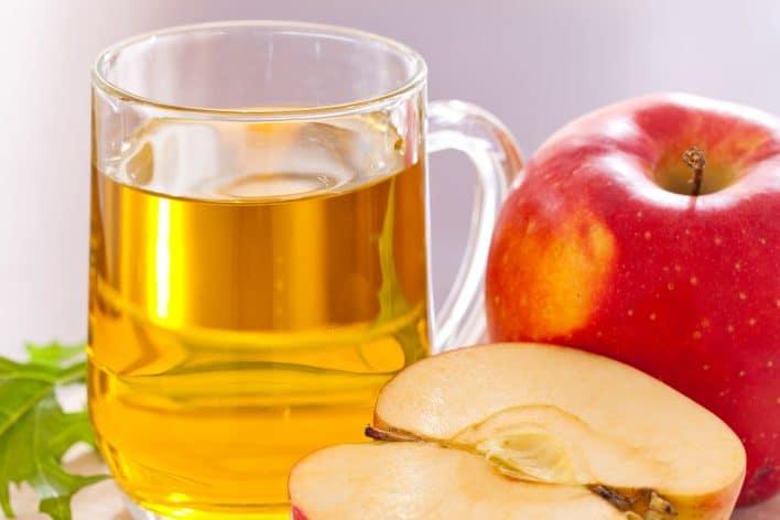 Яблочный уксус от кашля